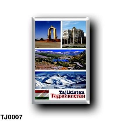 TJ0007 Asia - Tajikistan - Mosaic