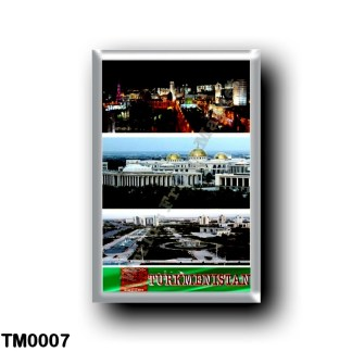 TM0007 Asia - Turkmenistan - Mosaic