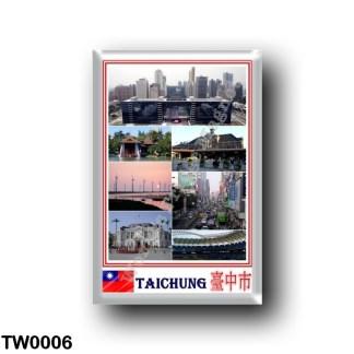 TW0006 Asia - Republic of China - Taiwan - Taichung - Mosaic
