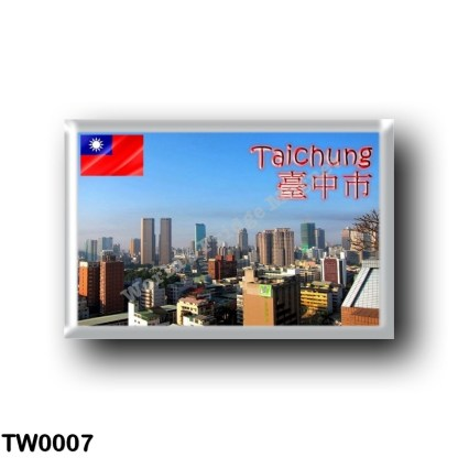 TW0007 Asia - Republic of China - Taiwan - Taichung City