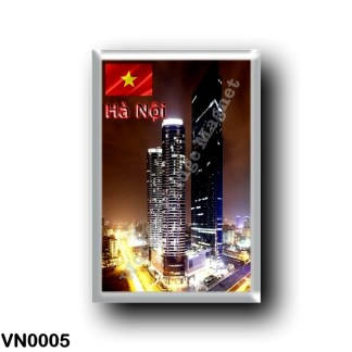VN0005 Asia - Vietnam - Hanoi - Landmark Tower By Night