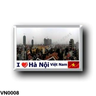 VN0008 Asia - Vietnam - Hanoi - Skyline I Love