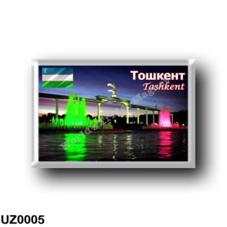 UZ0005 Asia - Uzbekistan - Tashkent - Independence Square