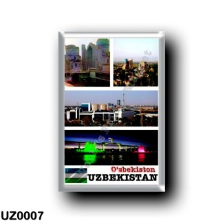 UZ0007 Asia - Uzbekistan - Mosaic