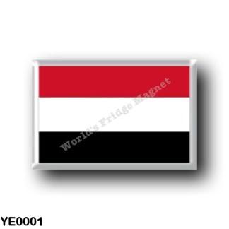 YE0001 Asia - Yemen - Flag