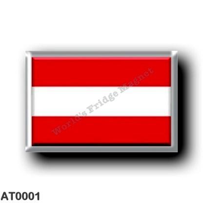 AT0001 Europe - Austria - Austrian Flag