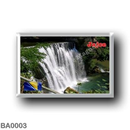 BA0003 Europe - Bosnia and Herzegovina - Jajce - Cascate del fiume Pliva