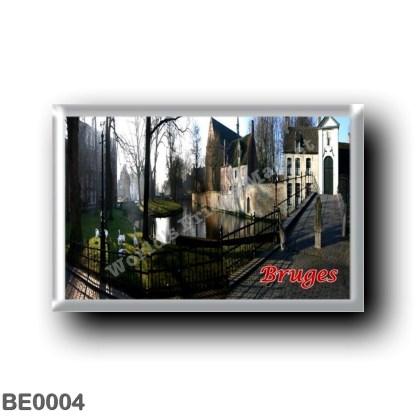 BE0004 Europe - Belgium - Bruges - Beginenhof