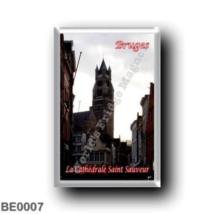 BE0007 Europe - Belgium - Bruges - La Cathédrale Saint-Sauveur