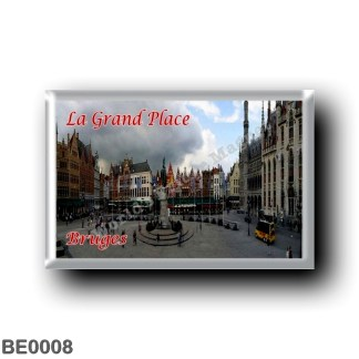 BE0008 Europe - Belgium - Bruges - La Grand-Place