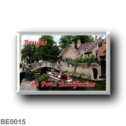 BE0015 Europe - Belgium - Bruges - Le Pont Bonifacius