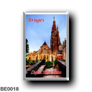 BE0018 Europe - Belgium - Bruges - L'église Notre-Dame