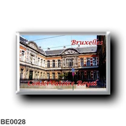 BE0028 Europe - Belgium - Brussels - Bruxelles - Conservatoire Royal de Bruxelles