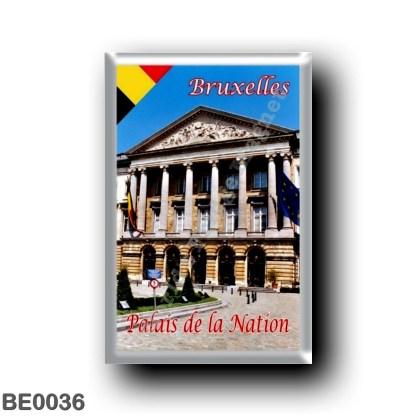 BE0036 Europe - Belgium - Brussels - Bruxelles - Palais de la Nation