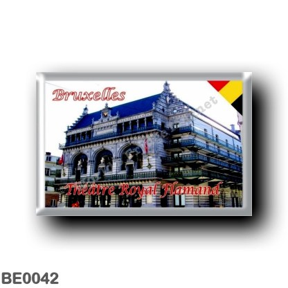 BE0042 Europe - Belgium - Brussels - Bruxelles - Théâtre Royal Flamand
