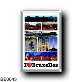 BE0043 Europe - Belgium - Brussels - Bruxelles - I Love