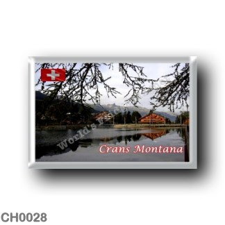 CH0028 Europe - Switzerland - Crans-Montana - Chalets