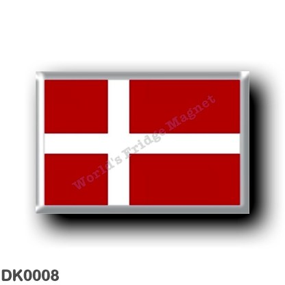 DK0008 Europe - Denmark - Danish flag