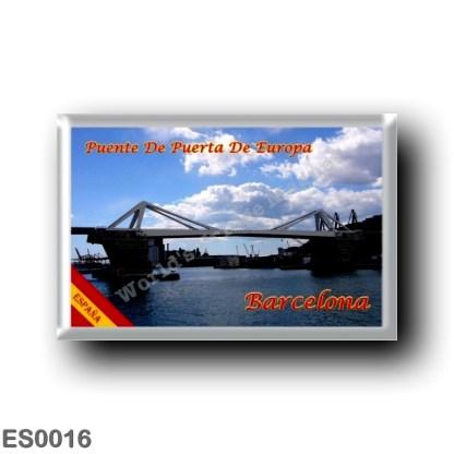 ES0016 Europe - Spain - Barcelona - Puente De Puerta De Europa