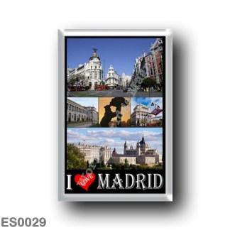 ES0029 Europe - Spain - Madrid - I Love