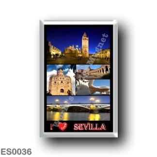 ES0036 Europe - Spain - Sevilla - I Love
