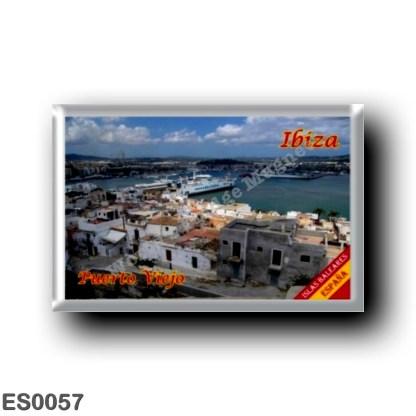 ES0057 Europe - Spain - Balearic Islands - Ibiza - Eivissa - Old Town Harbour