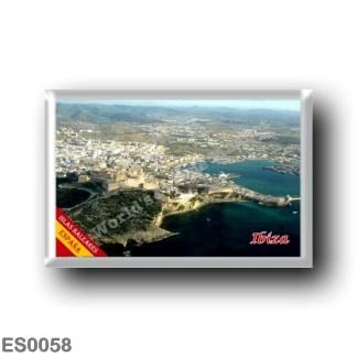 ES0058 Europe - Spain - Balearic Islands - Ibiza - Eivissa - Panorama