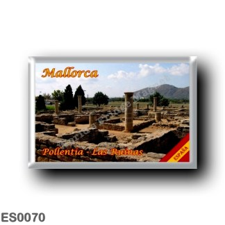 ES0070 Europe - Spain - Balearic Islands - Majorca - Mallorca - Pollentia - the ruins