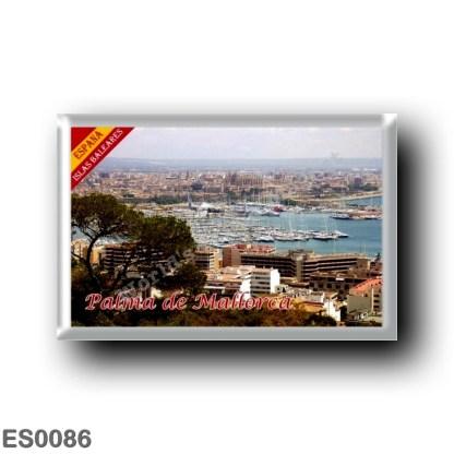 ES0086 Europe - Spain - Balearic Islands - Majorca - Palma de Mallorca - Panorama