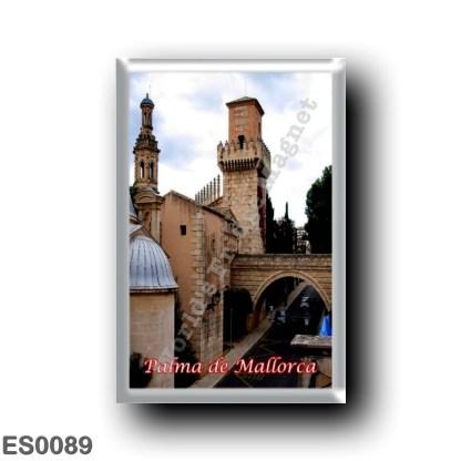 ES0089 Europe - Spain - Balearic Islands - Majorca - Palma de Mallorca - Pueblo Español