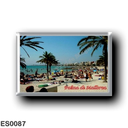 ES0087 Europe - Spain - Balearic Islands - Majorca - Palma de Mallorca - Playa