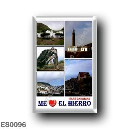 ES0096 Europe - Spain - Canary Islands - El Hierro - I Love