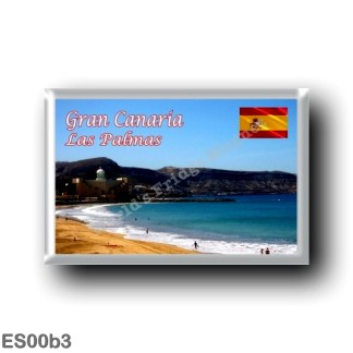 ES00b3 Europe - Spain - Canary Islands - Gran Canaria - Las Palmas - Playa