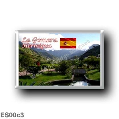 ES00c3 Europe - Spain - Canary Islands - La Gomera - Parque Culato en Hermigua