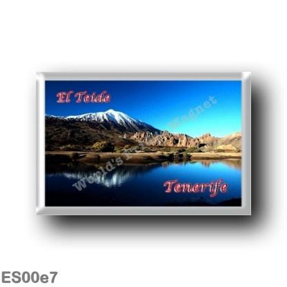 ES00e7 Europe - Spain - Canary Islands - Tenerife - El Teide