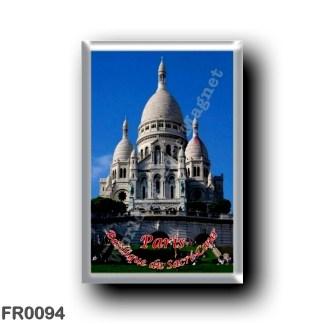 FR0094 Europe - France - Paris - Basilique du Sacré-Cœur De Montmartre