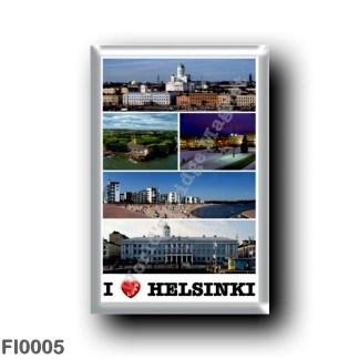FI0005 Europe - Finland - Helsinki - Helsingfors - I Love