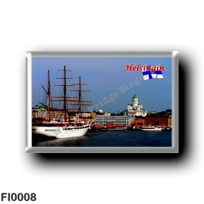 FI0008 Europe - Finland - Helsinki - Helsingfors - Panorama