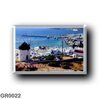 GR0022 Europe - Greece - Mykonos - Panorama