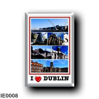 IE0008 Europe - Ireland - Dublin - I Love