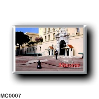 MC0007 Europe - Monaco - Guard dans le Palais