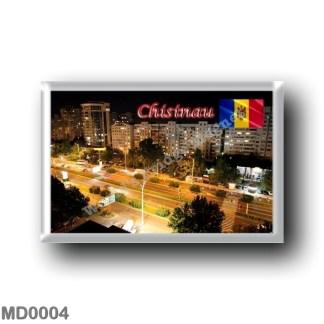 MD0004 Europe - Moldova - Chisinau - City at night