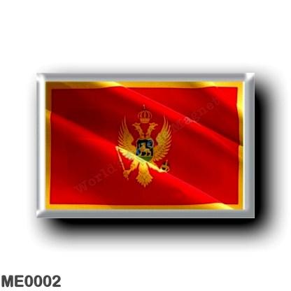 ME0002 Europe - Montenegro - Flag Waving