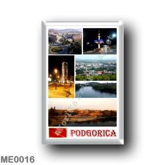 ME0016 Europe - Montenegro - Podgorica - Mosaic