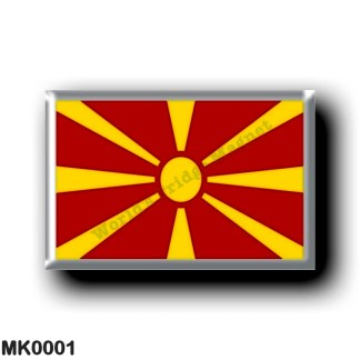 MK0001 Europe - Macedonia - Macedonian flag