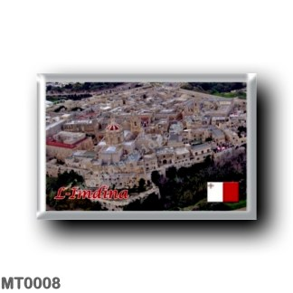 MT0008 Europe - Malta - L-Imdina - SkyLine