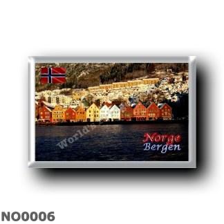 NO0006 Europe - Norway - Bergen - Bryggen