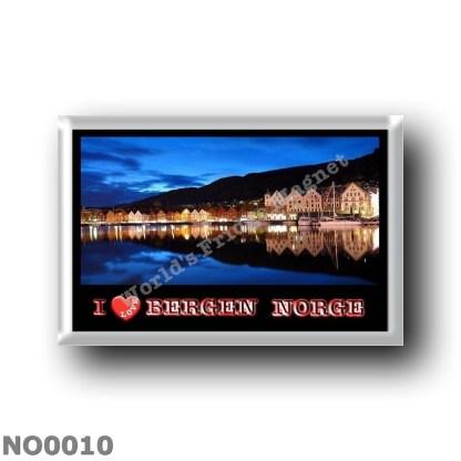 NO0010 Europe - Norway - Bergen - I Love