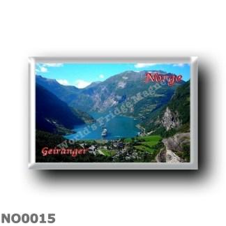 NO0015 Europe - Norway - Geiranger