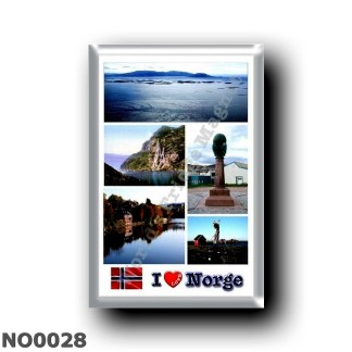 NO0028 Europe - Norway - Norge - I Love